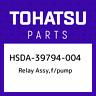 HSDA-39794-004 Tohatsu Relay assy,f/pump HSDA39794004, New Genuine OEM Part