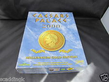 PC jeu CAESARS PALACE 2000 Millenium Gold Edition BIG BOX avec manuel