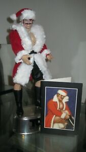 Tom Of Finland Doll Figure 001 Rebel ~Collectible~ Action Figure~ Hunky Santa!