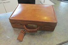 Vintage Hartmann American Handmade Luxury Belting Leather Attache Briefcase Bag