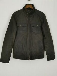PG Field Masters of Weatherwear Jacket Small Dark Chocolate Brown Padded Lining