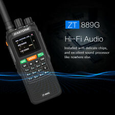 Zastone ZT889G GPS Walkie Talkie Two Way Radio VHF/UHF 999 Channels For Hunting