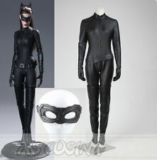 Batman The Dark Knight Rises Selina Kyle Catwoman Cosplay Costume Halloween Suit