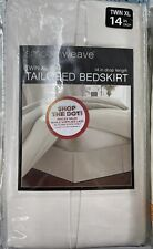 Smoothweave Twin Xl Tailored Bed Skirt