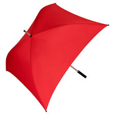 Regenschirm Leicht Stabil Quadrat Viereckig Gross Stabil rot weiß blau Charlie