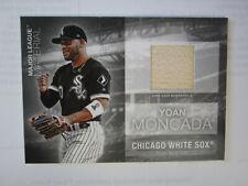 2020 Topps # MLM - YM Yoan Moncada Material Card Chicago White Sox ( B67 )