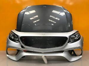 MERCEDES E CLASS W213 Amg facelift 2018- genuine front bumper, bonnet HEADLIGHTS