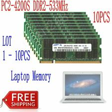 16GB 8GB 4GB 2GB DDR2-533Mhz PC2-4200S 200Pin RAM For Samsung Laptop Memory LOT