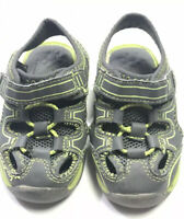 Garanimals Sandals Shoes Size 6 Toddler Green Yellow Gray