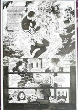 Steve EPTING ~ AQUAMAN Page DC Comics Original Art