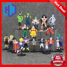 Dragon Ball Z Super Son Goku Action Figure Toys Collection 1/2 Generation 20pcs