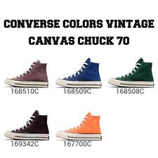 Converse цвета винтажный холст патрон 1970 унисекс, высокий верх, обувь, кроссовки выбери 1