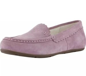 Vionic McKenzie Slipper w Orthotic Arch Support Women's US 6.5 Mauve Pink Suede