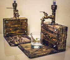 handmade. whiskey dispenser
