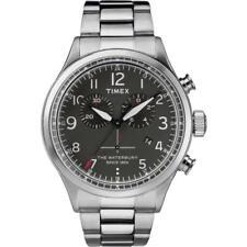 Reloj Timex Tw2r38400 plata acero 316 L hombre
