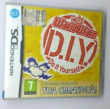 WARIO WARE D.I.Y. Do It Yourself  Nintendo DS 2DS 3DS Manuale in Italiano