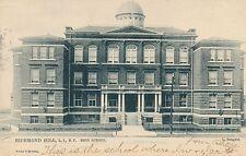 RICHMOND HILL QUEENS NY – High School Tuck Postcard – udb – 1906