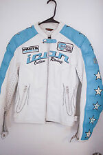 Womens Icon Kitty Leather Motorcycle jacket SZ Small