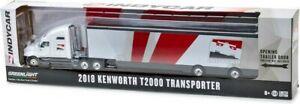Greenlight 29951 2018 Kenworth T2000 IndyCar Transporter Indy 500 1/64 Scale