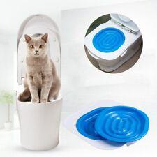 Toilets Pet Citi Useful Kitty Tray For Cats Litter Box Training Toilet Seat Gato