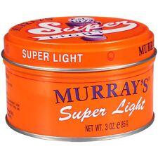 [MURRAY'S] SUPER LIGHT POMADE & HAIR DRESSING 3OZ