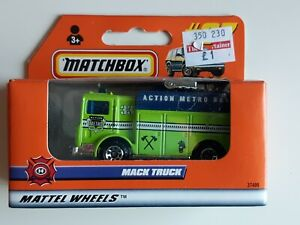 Matchbox No 67 Mack Truck Boxed, New Old Stock