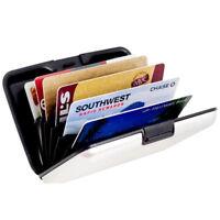 Portamonete Alluminio Portafoglio Raccoglitore in Porta carte credito Uomo Donng