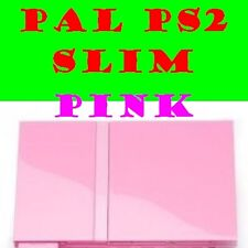 PLAYSTATION 2 PINK PAL SONY CONSOLE CONTROLLER MEMORY CARD PS2 AGE SUITABLE GAME