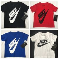 Nike Boys Short Sleeve T Shirt, 2T, 3T, 4T, White, Red, Black, Blue, Gift, $18