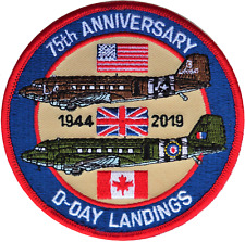 Operation Overlord 75th Anniversary D Day Landings Commemorative Patch