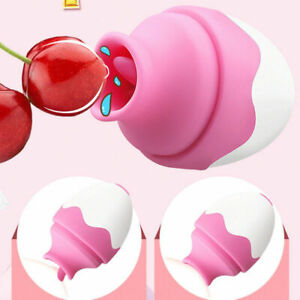 Enlarge Nipple Clitoris Massager Tongue Sucking Vibrator Oral Women Sex Toys