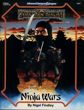 FROA1 NINJA WARS w/MAP VF! Forgotten Realms Module D&D Dungeons Dragons AD&D