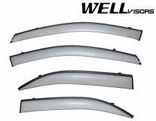 WellVisors CLIP ON Style Side Window Visors W/ Black Trim For 03-09 KIA Sorento