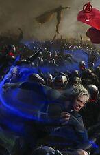 Avengers 2 Age of Ultron 2015 Movie Poster 24x36 - Quicksilver, Vision Comic Con
