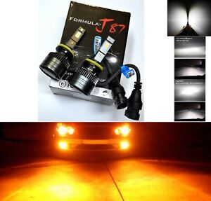 LED Kit G8 100W 893 Orange Amber Two Bulbs Fog Light Upgrade Replacement Lamp OE
