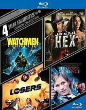 4 Film Favorites: Comics Collection ( Watchmen / Jonah Hex / The Losers / A Hist