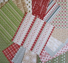 "Christmas Wishes 6x6"" Scrapbook Papers 16 sheets by First Edition - Nordic style"