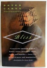 Bliss Peter Carey PB Book life death resuscitated adventure Novel fiction novel