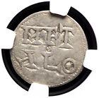 CAROLINGIANS. Charles the Simple. King of West Francia Denier 898 922 NGC VF20