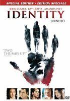 Identity Special Edition - DVD [Region 1/A, Fullscreen/Widescreen, Horror] NEW