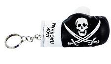 Keychain Mini boxing gloves key chain flag key ring cute pirate jack rackham