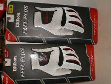 2- New Wilson Feel Plus Gold Glove, Men's Right Hand, size Ml