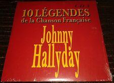JOHNNY HALLYDAY RARE NEUF SCELLE ISSU DES 10 LEGENDES DE LA CHANSON FRANCAISE