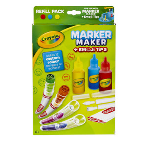 Crayola Marker Maker with Emoji Tips Refill Pack