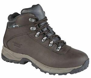Ladies Womens Hi Tec Waterproof Hiking Walking Trail Ankle Boots Shoes Size