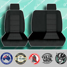 FOR TOYOTA LANDCRUISER TROOP CARRIER 1982-1999 TAILOR MADE BLACK CAR SEAT COVER