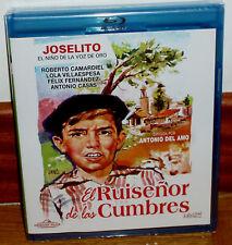 JOSELITO EL RUISEÑOR DE LAS CUMBRES BLU-RAY NUEVO PRECINTADO CINE ESPAÑOL R2