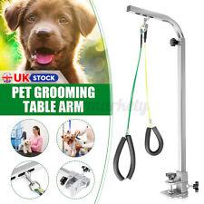 More details for foldable pet dog grooming bath table adjustable arm pet beauty desk portable