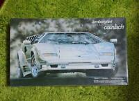 Fujimi Lamborghini SpA 25th Anniversity Countach 1/24 Model Kit #14043