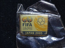 2005 FIFA CLUB WORLD CHMPIONSHIP JAPAN PIN BADGE TOYOTA CUP PINS